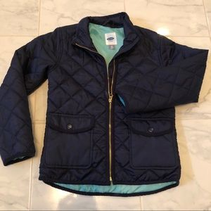 Old navy girls light puffy jacket